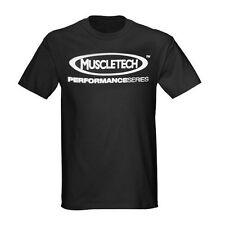 MuscleTech Black XL Bodybuilding Workout Gym T-SHIRT Tee Shirt Men's - SALE