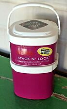 Thermos Stack N' Lock Insulated Food Storage System 2 Containers: 12 Oz & 24 Oz