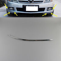 New Front Bumper Chrome Trim Right Avantgarde For Mercedes C Class W204 07-10