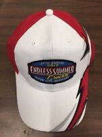 2017 Cruisin Endless Summer car show hat white and red Ocean City MD