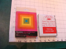 vintage unused Film: POLAROID COLORPACK FILM 88 sealed film, expired 1975