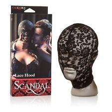 Scandal Lace Hood, Adult Couple Naughty Kinky Fetish Bondage Foreplay Toy, New