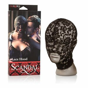 Scandal Lace Hood, Adult Couple Naughty Kinky Fetish Bondage Foreplay Toy, New
