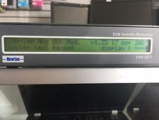 Newtec DVB 2077 Satellite Modulator In A Great Condition,30 Days Return Accepted