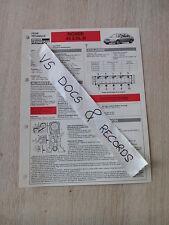 FICHE TECHNIQUE AUTOMOBILE RTA ROVER 45 2.0 L D (n°16)