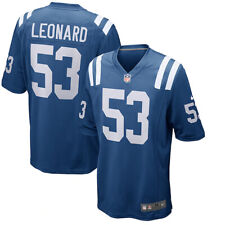 Brand New 2020 NFL Nike Indianapolis Colts Darius Leonard 53 Game Edition Jersey