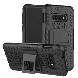 Samsung Galaxy S10 S10+ S10 LITE [Tough Armour] Slim Shockproof Case Cover Stand