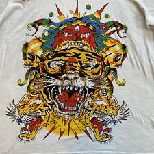 Ed Hardy by Christian Audigier T-Shirt Dragon/Tiger Men's XXL