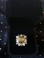 Beautiful Peridot Ring size K 1/2
