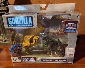Godzilla King Of The Monsters King Ghidorah Battle Pack Set Jakks Pacific 2019