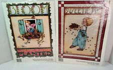 LOT 2 Vintage Daisy Kingdom Iron-on Transfer by Mary Engelbreit New