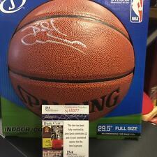 BILLY CUNNINGHAM 76ERS LEGEND HOFER RARE SIGNED I/O BASKETBALL JSA N48377
