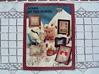 Cross Stitch Pattern Polar Bears Stars of the North by Craftways Made USA Used