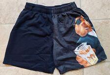 Camel Joe Men's Black Fleece Shorts Size Large (Osfa) New Mint Vintage 90's