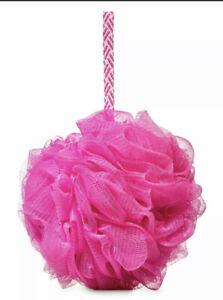 Pink NEW Shower Sponge Loofah Bath & Body Works NWT