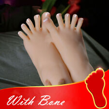 Feet Or One Bone Left Realistic Female With Right Display Legs Model Silicone