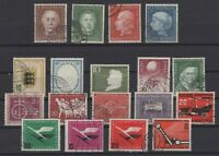 CB145687/ GERMANY – YEARS 1954 - 1956 USED SEMI MODERN LOT – CV 150 $