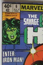 Marvel Comics, She Hulk  # 6  Photos Show  Great Condition