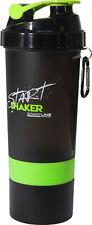 StartLine 600ml Start Shaker Bottle - Black/Green
