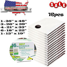 Vacuum Storage Bags Seal Space Saver Hoover Compression Clothes Air Tight  Sack