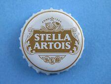 BEER Bottle Crown Cap ~*~ STELLA ARTOIS Brewing Pale Lager ~*~ Leuven, Belgium