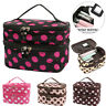 Ladies Large Travel Organizer Toiletry Cosmetic Make Up Holder Case Bag Pouch US