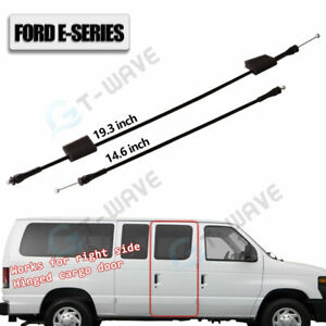 924-350 Door Latch Release Cable Right Side Hinged Door Front Ford E150 E250E350