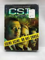 CSI: Crime Scene Investigation The Ninth Season DVD 2009 6-Disc Set New