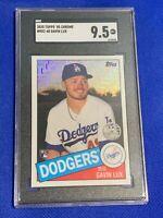 2020 Topps '85 Chrome Gavin Lux Dodgers RC #85C-48 SGC 9.5 GEM MINT Rookie Card