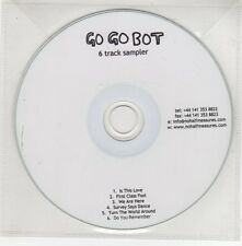 (GH974) Go Go Bot, 6 Track Sampler - DJ CD
