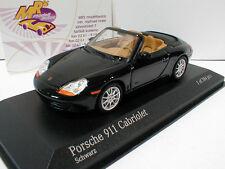 """Minichamps 400061090 # Porsche 911 (996) Cabrio Baujahr 1998 in """" schwarz """" 1:43"""