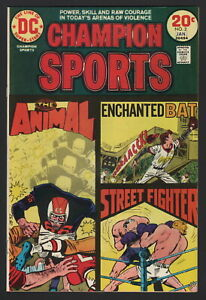 CHAMPION SPORTS #2, 1973-74, National Periodical Publications, NM- CONDITION