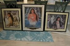 Maija Limited edition signed print.. total of 3 Framed & Matted pictures $420 ea
