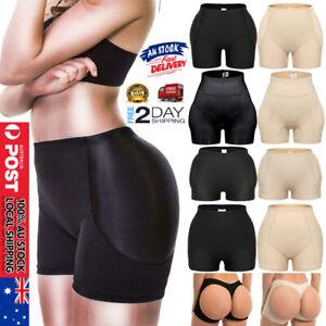 Women's High Waist Underwear Padded Butt Lifter Panties Hip Enhancer Body Shaper