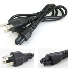 "6FT Three prong ""Mickey"" type power cord, three round pin & USA plug"