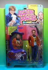 """Austin Powers- Scott Evil """"Get Away From Me"""" Blue Mip 1999 McFarlane 2nd Ser"""