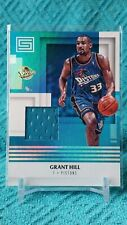 2017-18 Status Grant Hill Patch Game Worn Material Detroit Pistons