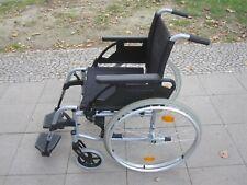 Leichter Unix 2 Rollstuhl Räder auf Knopfdruck abnehmbar guter Zustand
