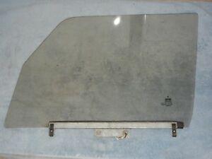 Classic SAAB 900 4 Door Sedan Left Front Door Glass Bronze Tint