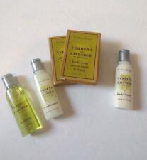 Crabtree & Evelyn Verbena & Lavender 5 Set Travel Shampoo Conditioner Lotion