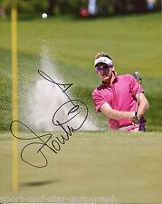 Ian Poulter SIGNED AUTOGRAPH Golf AFTAL UACC RD