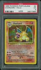 Pokemon Base Set PORTUGUESE Charizard 4/102 PSA 5