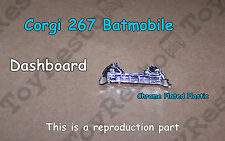 Corgi 267 Batmobile Chrome Dashboard - Restoration Part