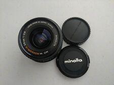 Minolta Rokkor-X 28mm f/2.8 MD Lens