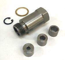 Oxygen senson spacer 18mm  stainless steel (Straight)
