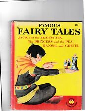 Famous Fairy Tales-E. Graham-Mervin Jules-Jack and the Beanstalk-Hansel and Gret