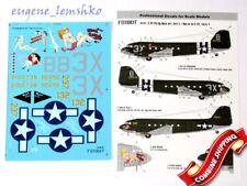 Foxbot 48-017A Decal for Douglas C-47 Skytrain/Dakota Pin-Up Nose Art Decal 1/48
