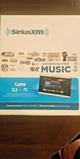 Sirius XM Lynx with Car Kit Bundle - latest software update installed! RARE