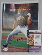 Greg Maddux Signed Magazine Beckett Baseball Atlanta Braves May 1993 JSA COA