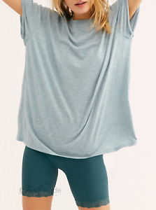 Free People | Blue Moon Solid We The Free Clarity Ringer Tee | NWT XS, S, M, L